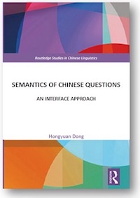Semantics of Chinese Questions book