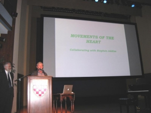 Prof. Chaves delivering the keynote address.